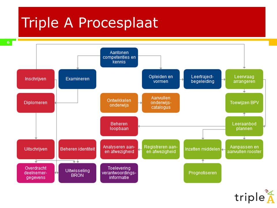 Triple A Procesplaat