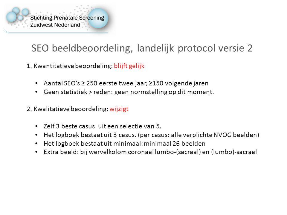 SEO beeldbeoordeling, landelijk protocol versie 2