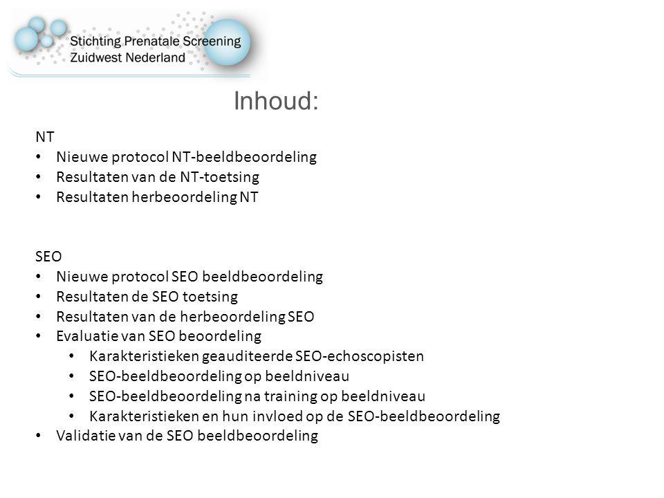Inhoud: NT Nieuwe protocol NT-beeldbeoordeling