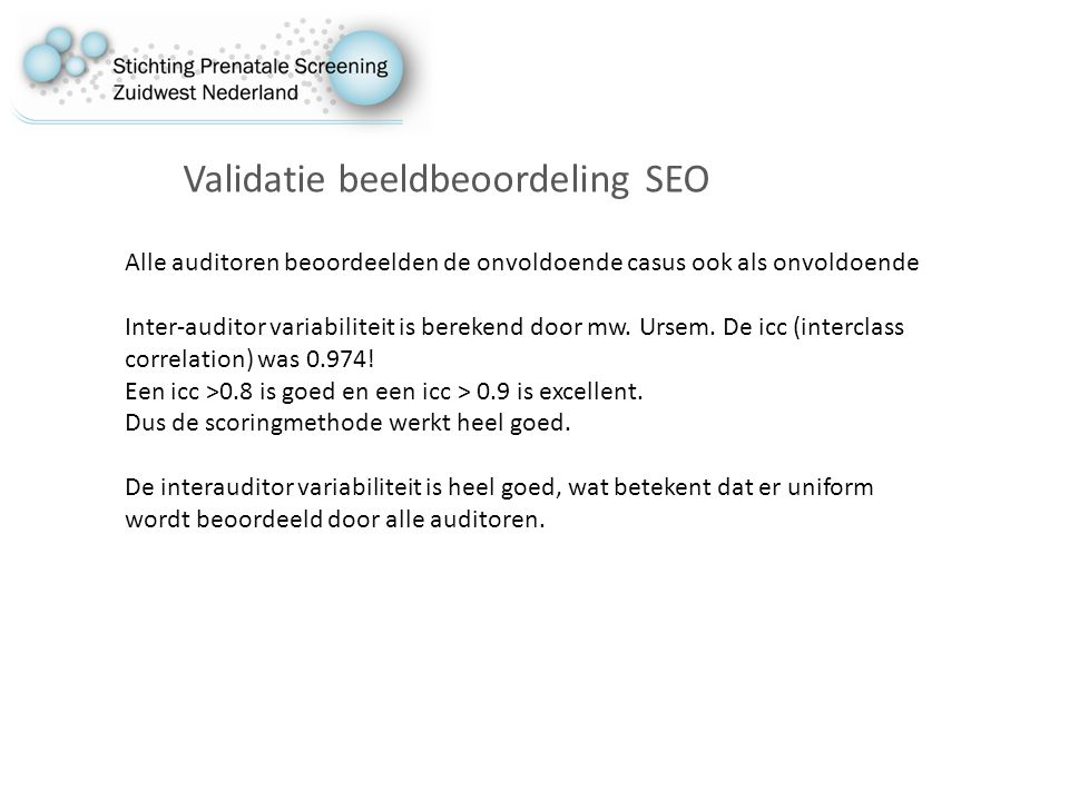 Validatie beeldbeoordeling SEO
