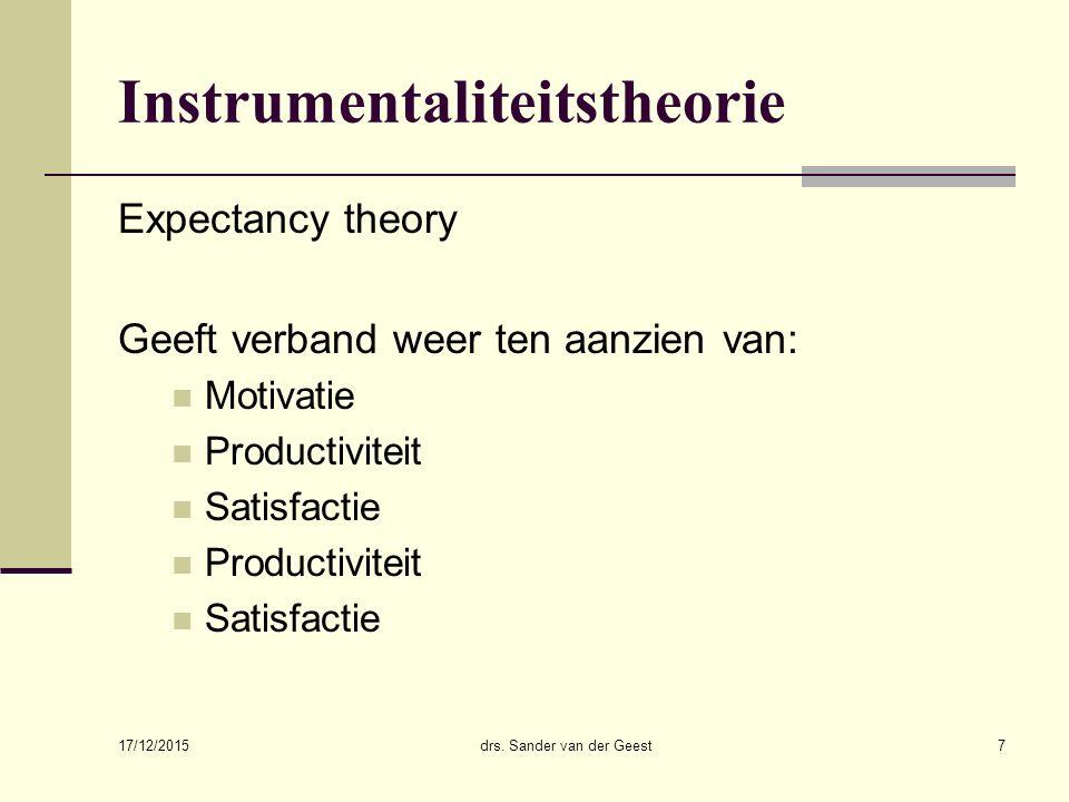 Instrumentaliteitstheorie