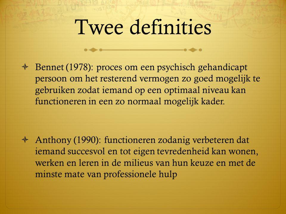 Twee definities