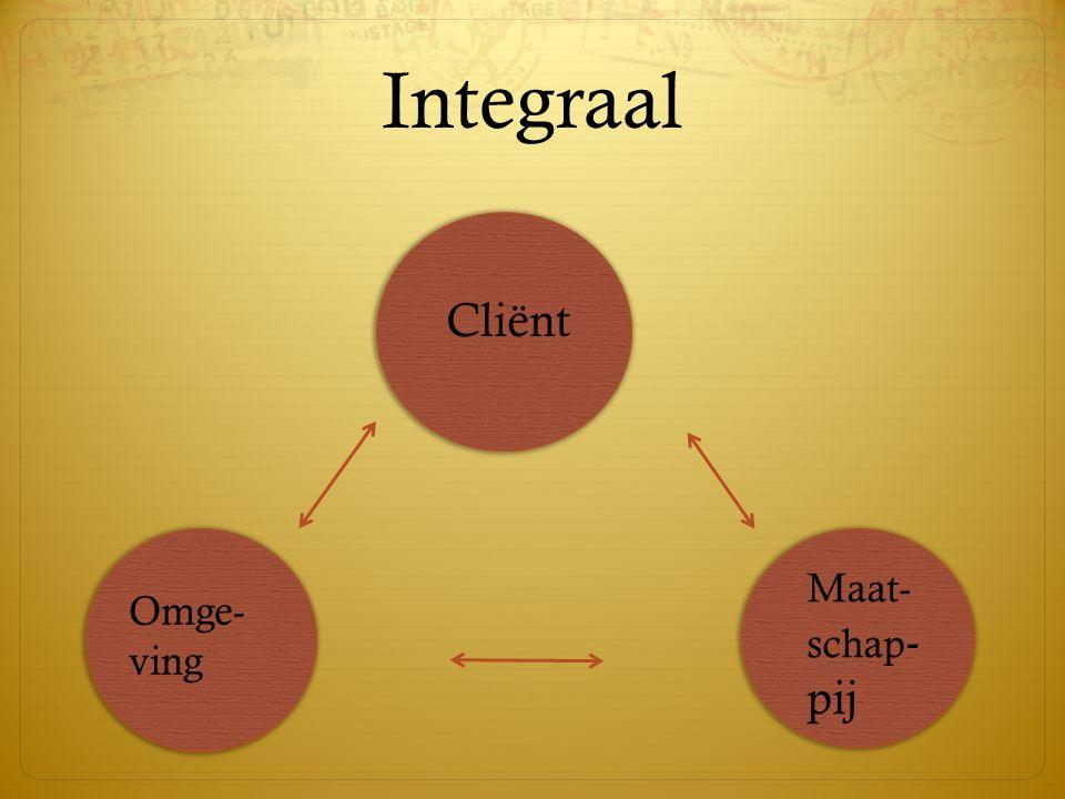 Integraal Cliënt Maat-schap-pij Omge-ving