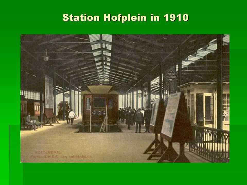 Station Hofplein in 1910