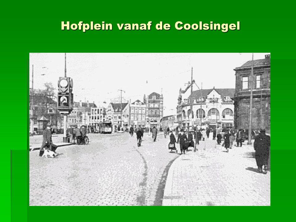 Hofplein vanaf de Coolsingel