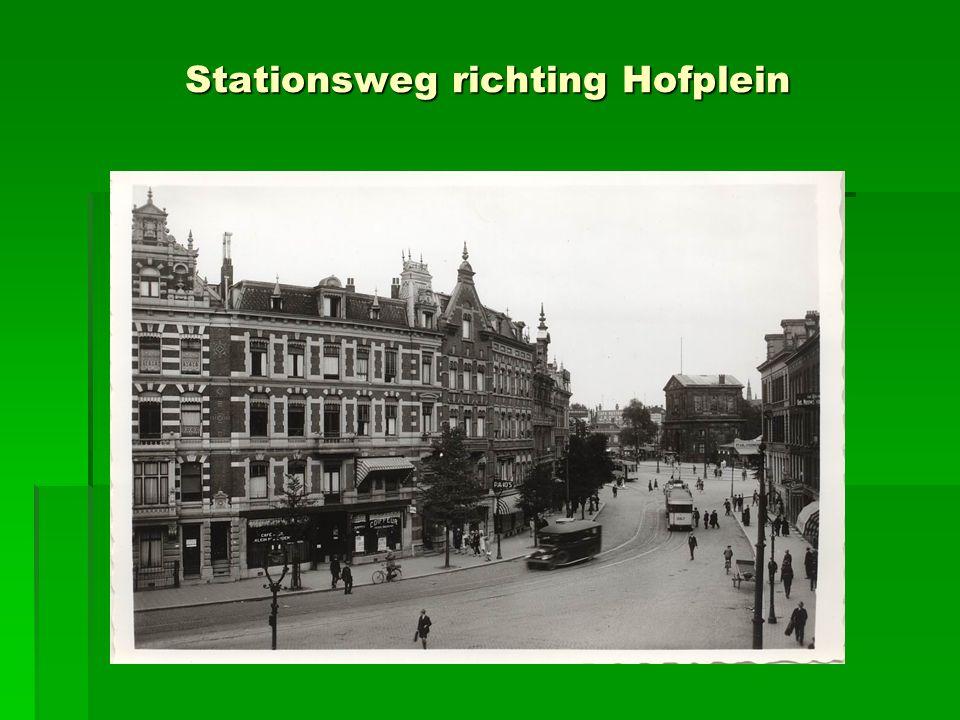 Stationsweg richting Hofplein
