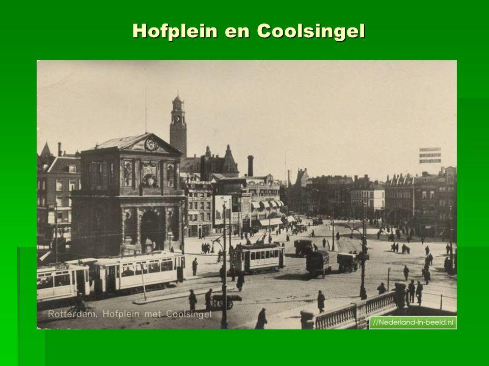 Hofplein en Coolsingel
