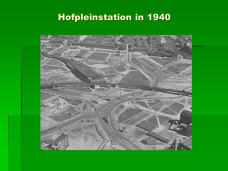 Hofpleinstation in 1940