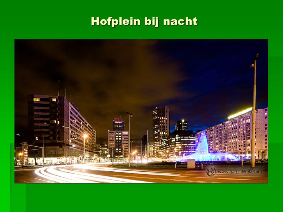 Hofplein bij nacht