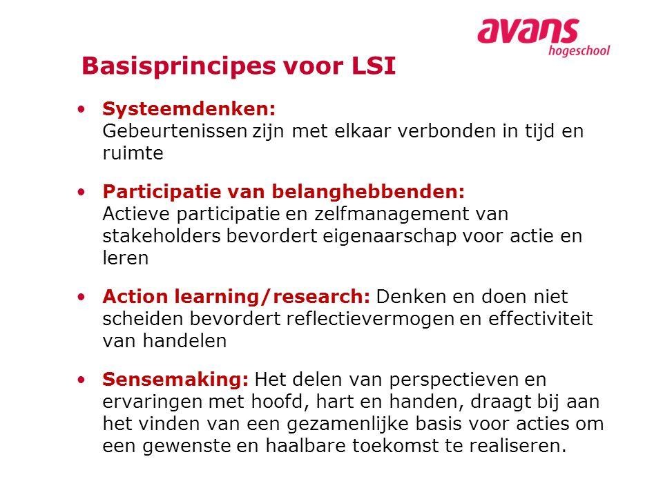 Basisprincipes voor LSI