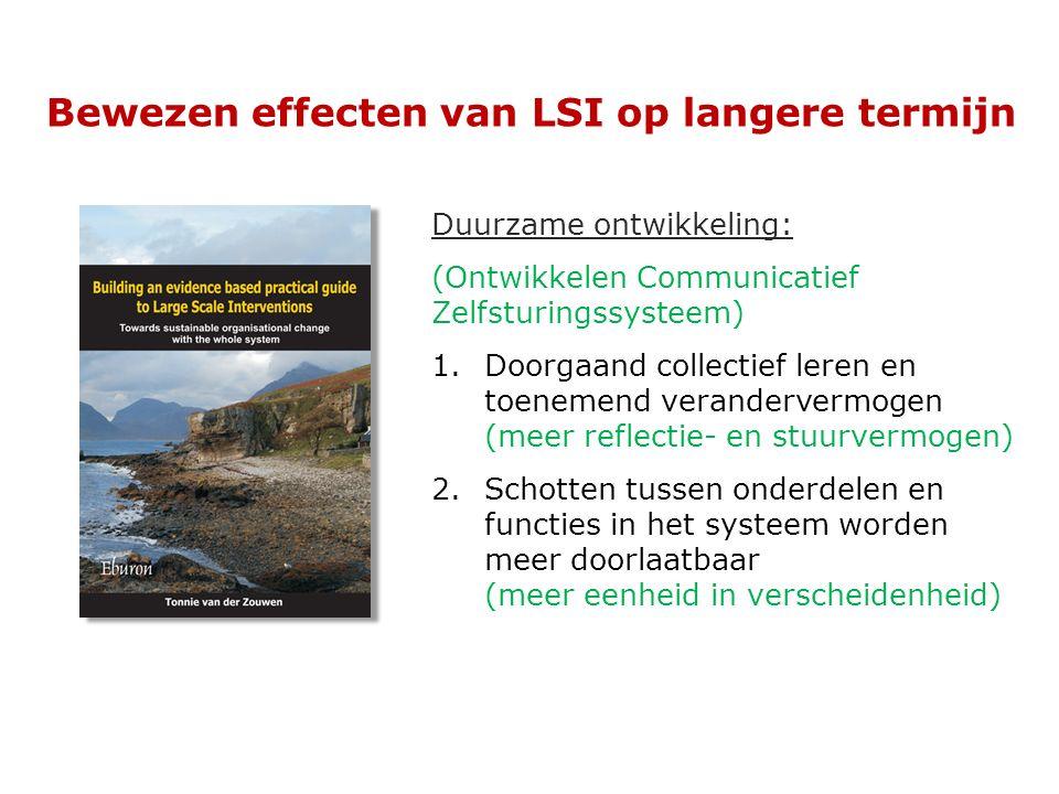 Bewezen effecten van LSI op langere termijn