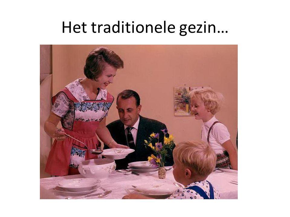Het traditionele gezin…