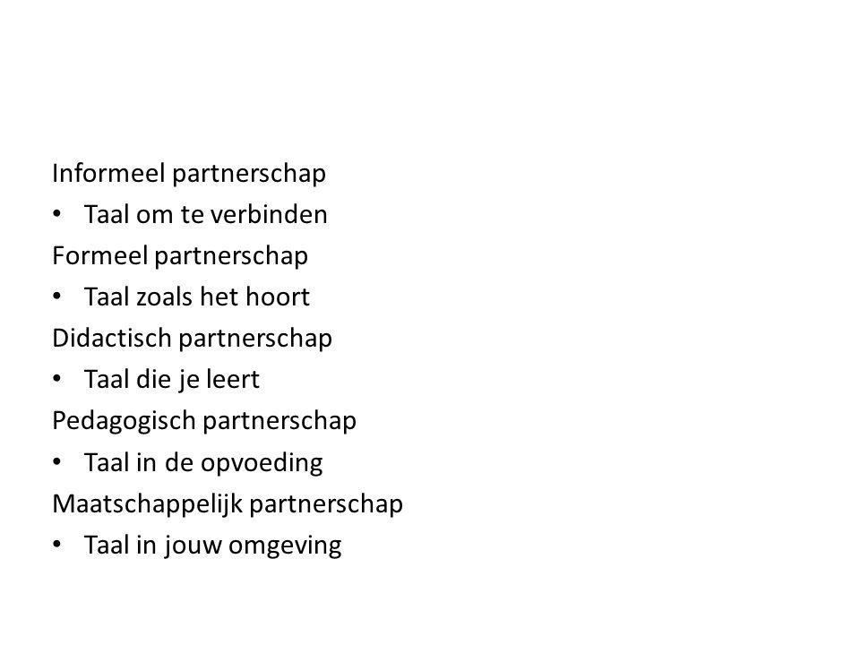 Informeel partnerschap