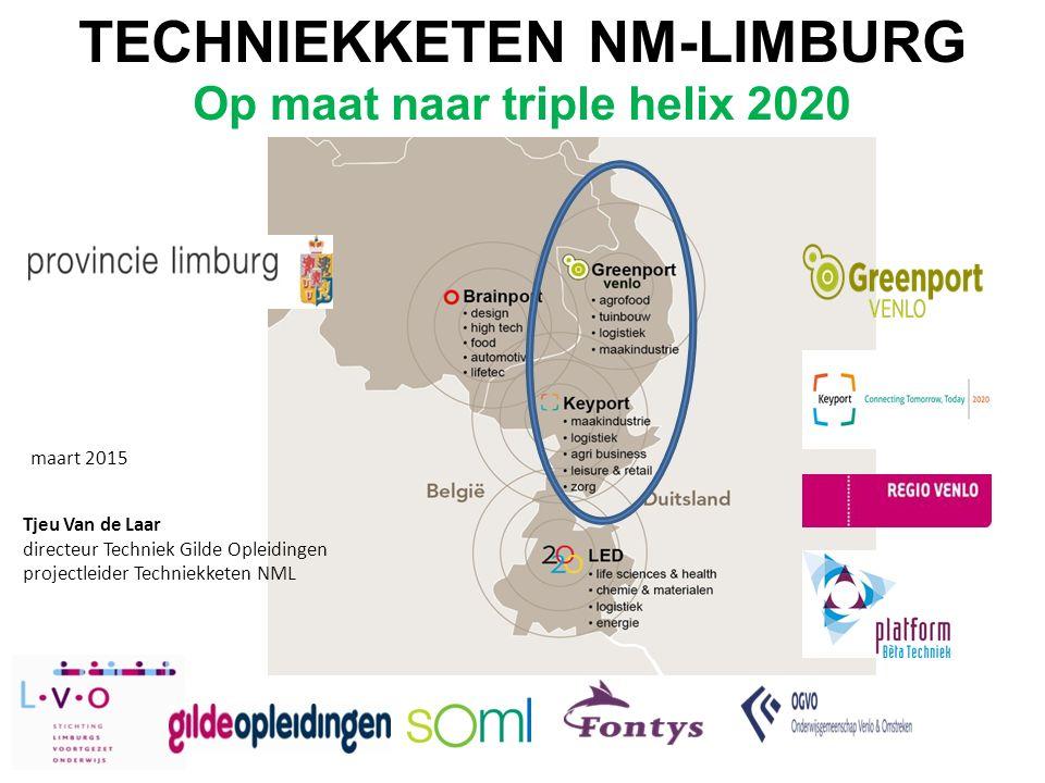 TECHNIEKKETEN NM-LIMBURG Op maat naar triple helix 2020