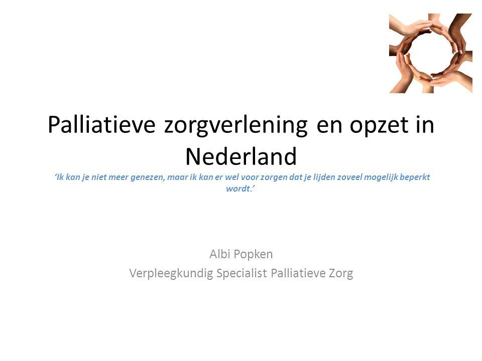Albi Popken Verpleegkundig Specialist Palliatieve Zorg