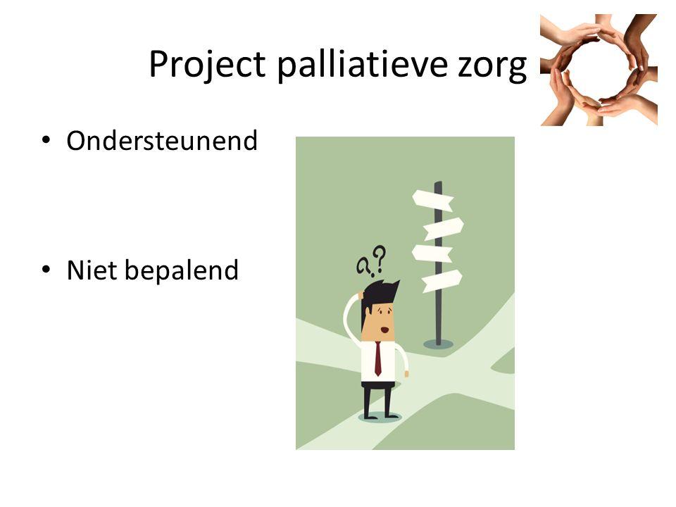 Project palliatieve zorg