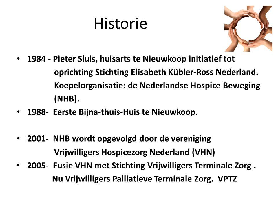 Historie 1984 - Pieter Sluis, huisarts te Nieuwkoop initiatief tot