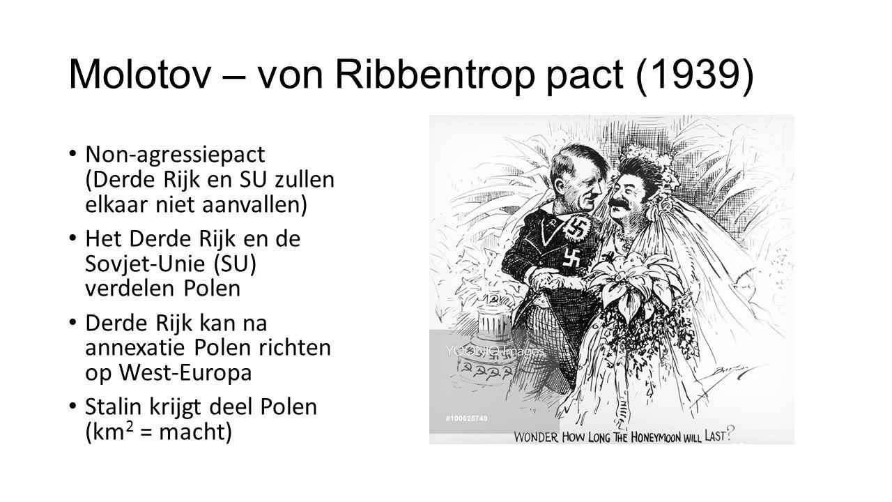 Molotov – von Ribbentrop pact (1939)