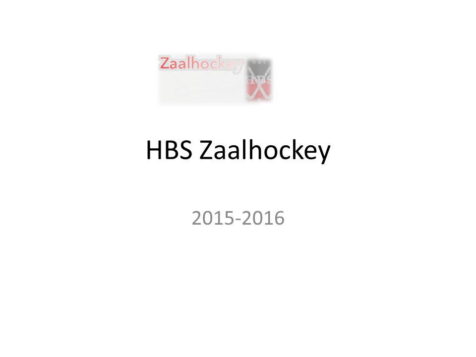 HBS Zaalhockey 2015-2016