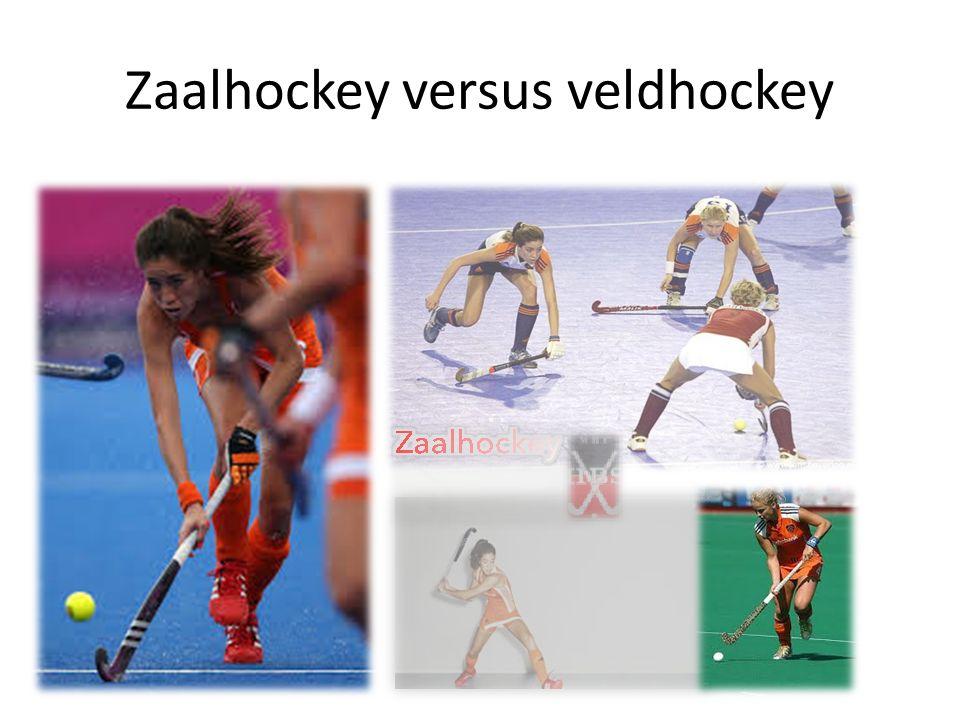 Zaalhockey versus veldhockey