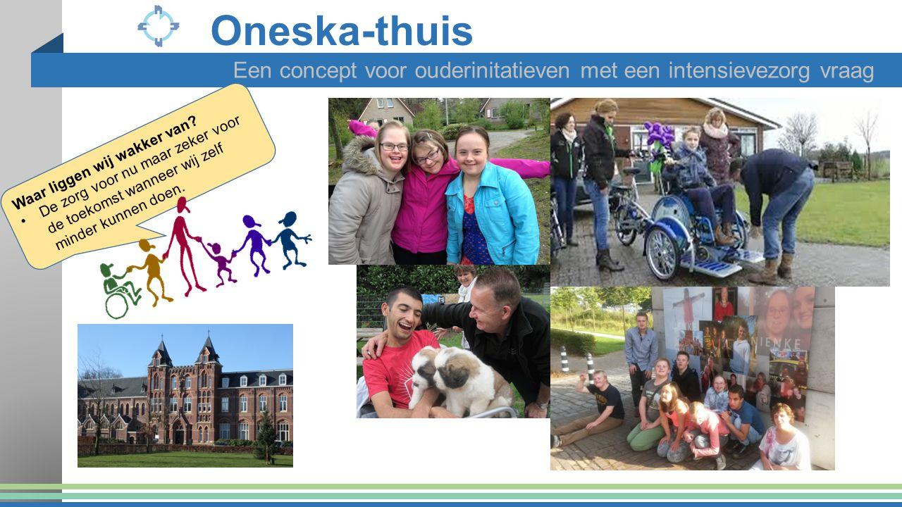 Oneska-thuis Een concept voor ouderinitatieven met een intensievezorg vraag. Waar liggen wij wakker van