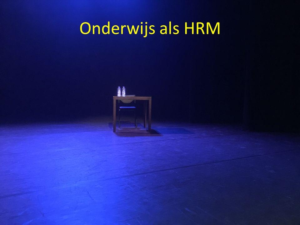 Onderwijs als HRM