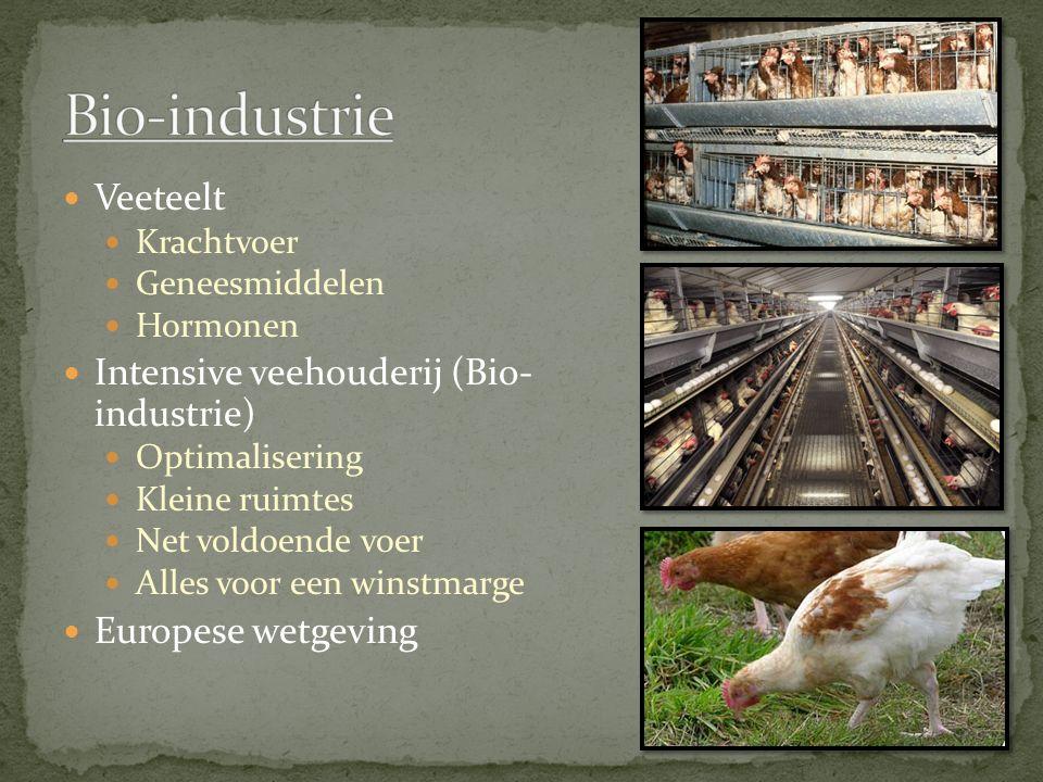 Bio-industrie Veeteelt Intensive veehouderij (Bio- industrie)