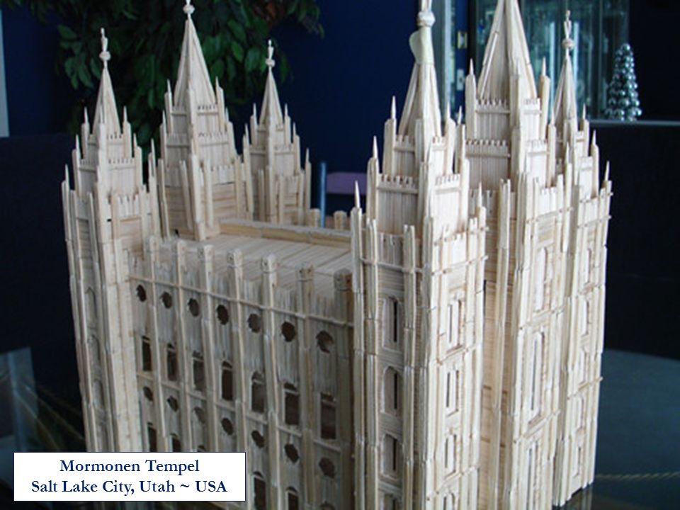 Salt Lake City, Utah ~ USA