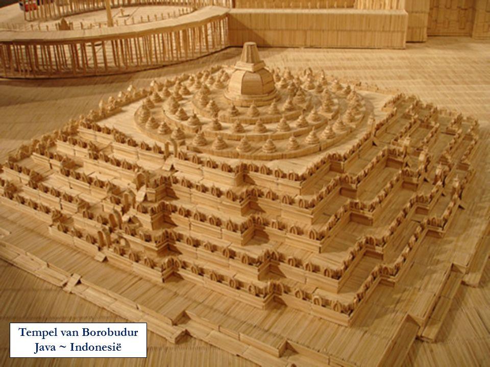 Tempel van Borobudur Java ~ Indonesië