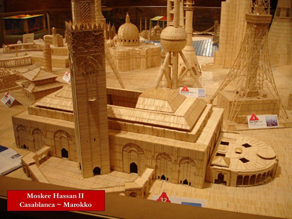 Moskee Hassan II Casablanca ~ Marokko