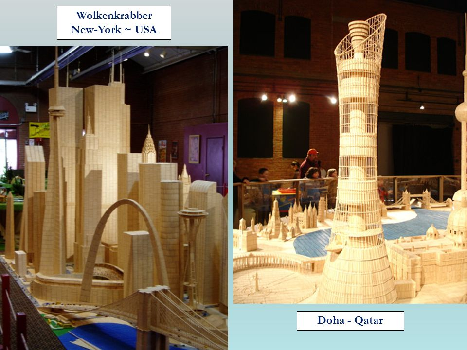 Wolkenkrabber New-York ~ USA Doha - Qatar