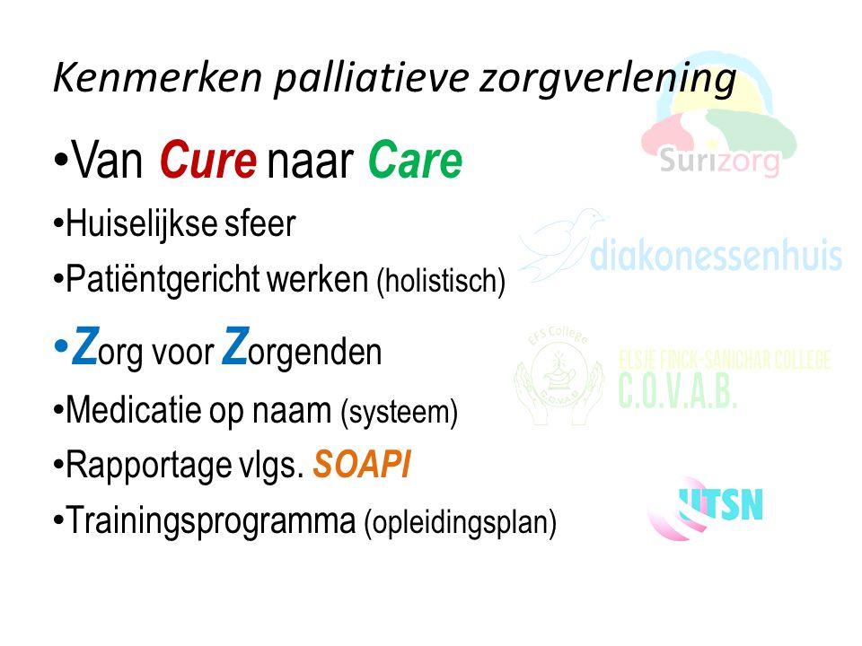Van Cure naar Care Zorg voor Zorgenden