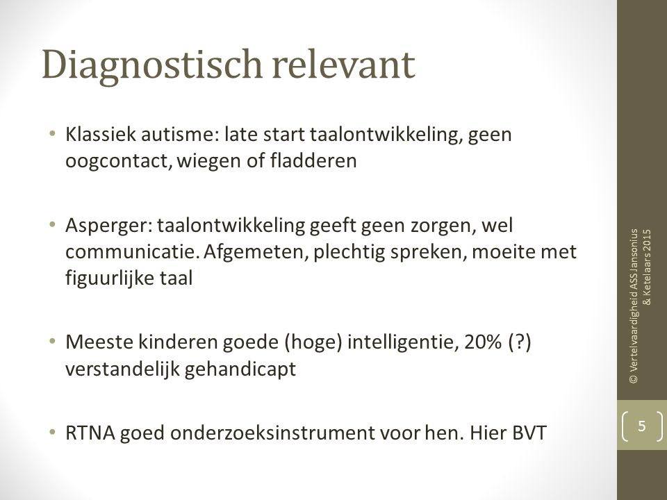 Diagnostisch relevant