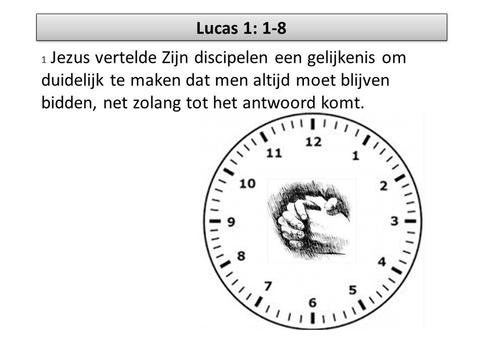 Lucas 1: 1-8