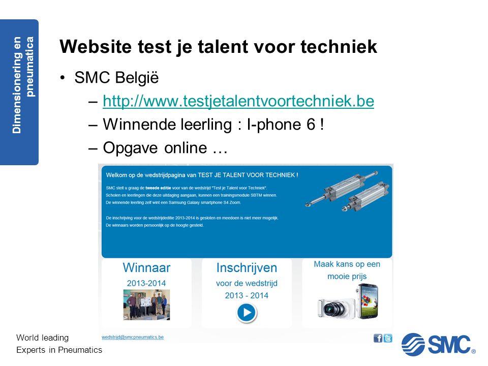 Website test je talent voor techniek