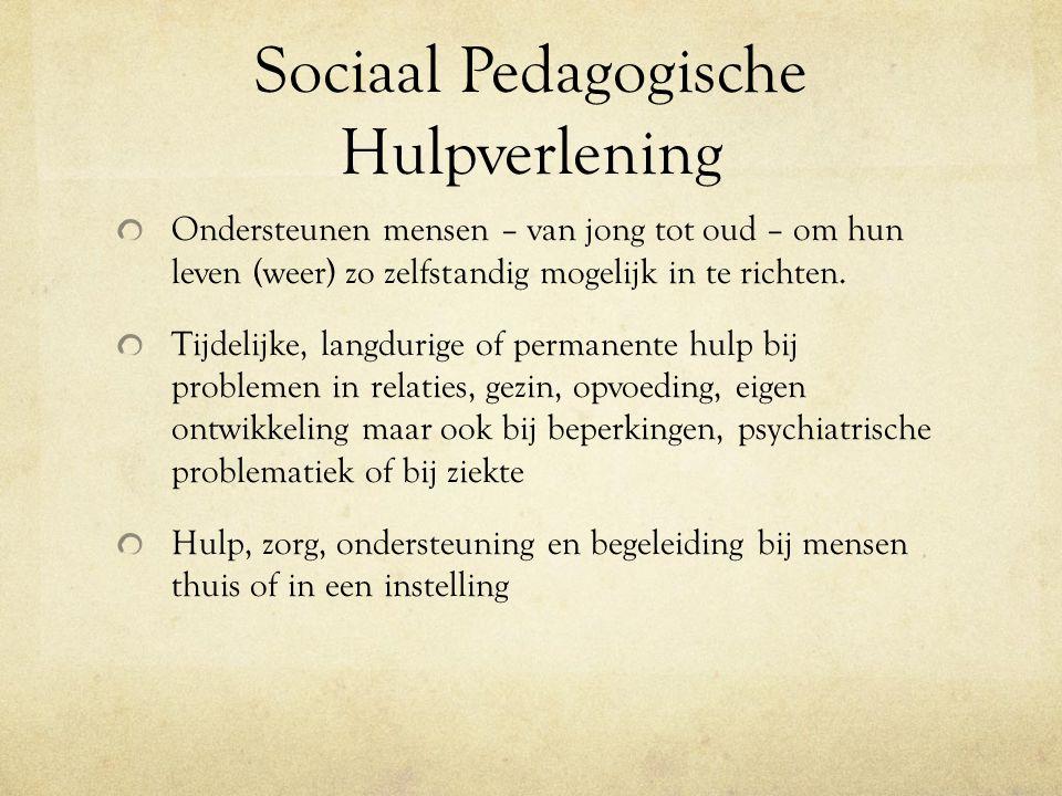 Sociaal Pedagogische Hulpverlening