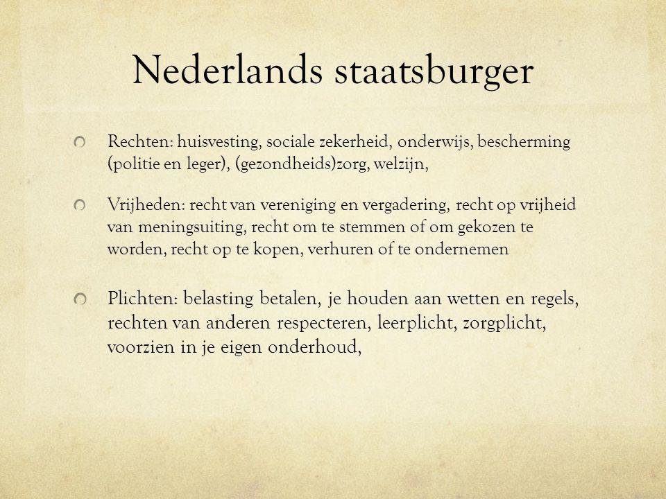 Nederlands staatsburger