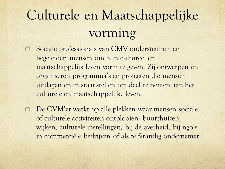 Culturele en Maatschappelijke vorming