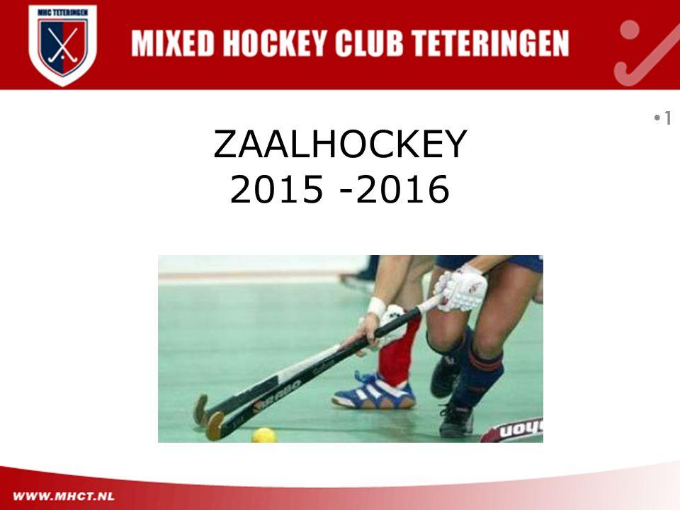 ZAALHOCKEY 2015 -2016