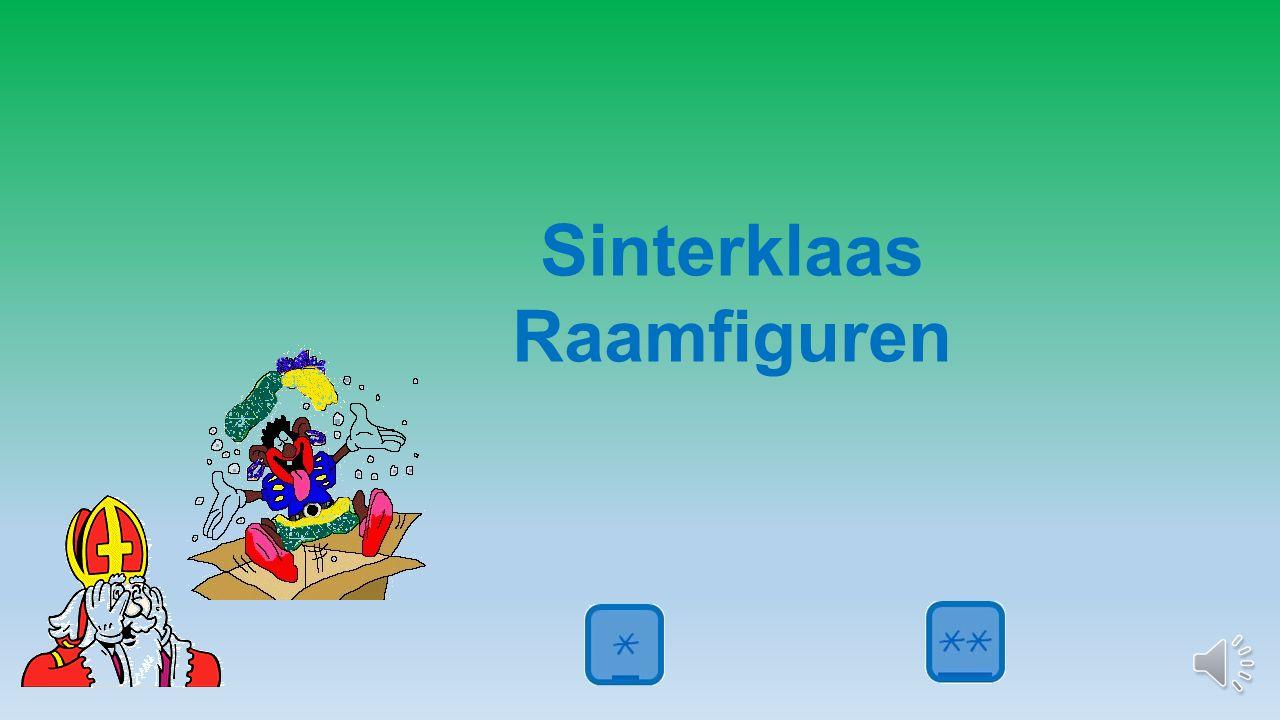 Sinterklaas Raamfiguren