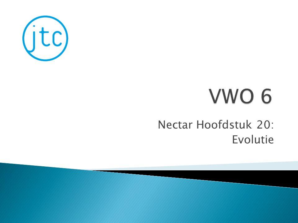 Nectar Hoofdstuk 20: Evolutie