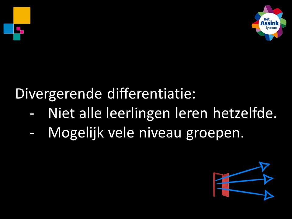 Divergerende differentiatie:
