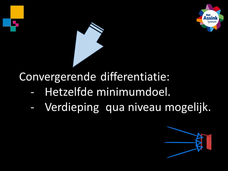 Convergerende differentiatie: