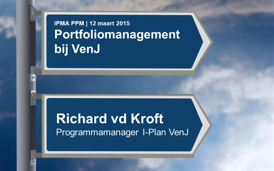 Richard vd Kroft Portfoliomanagement bij VenJ