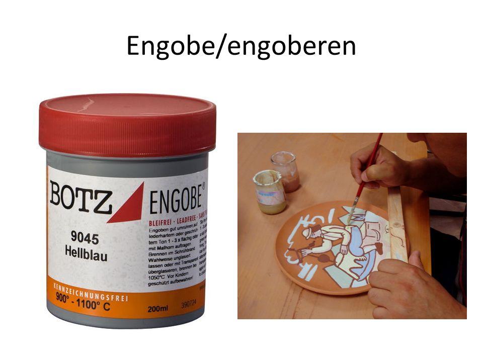Engobe/engoberen