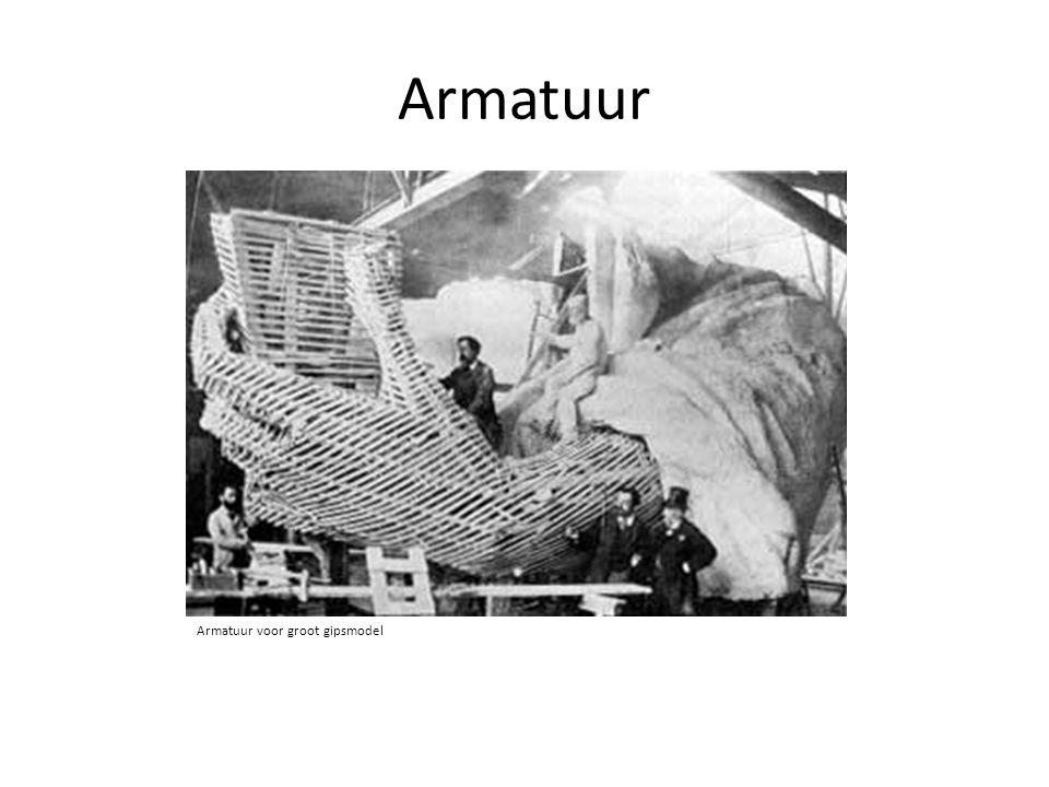 Armatuur Armatuur voor groot gipsmodel