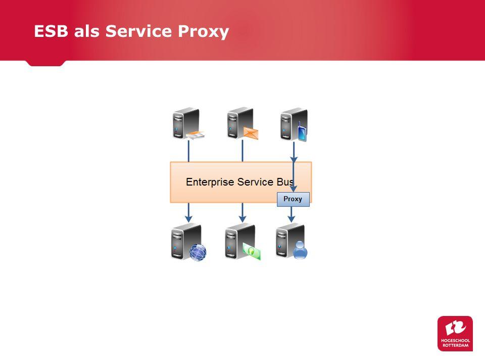 ESB als Service Proxy