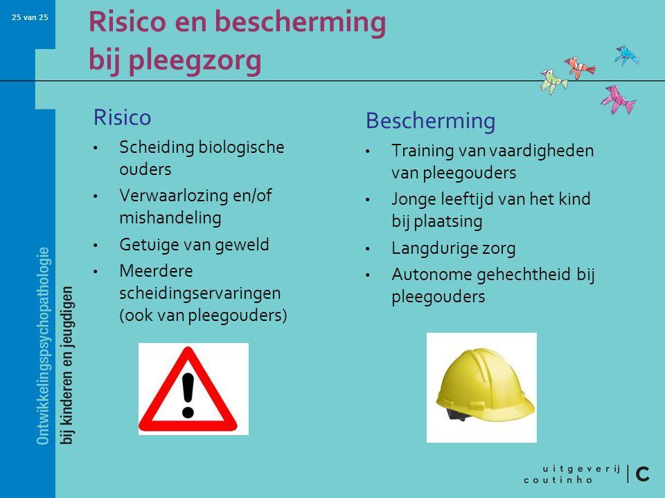 Risico en bescherming bij pleegzorg