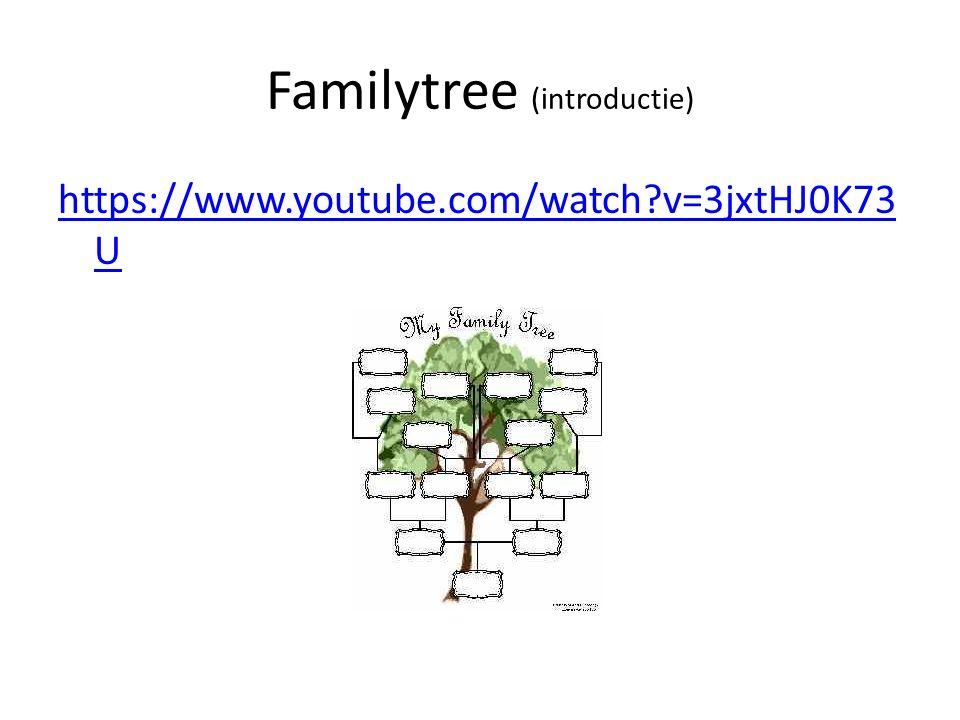 Familytree (introductie)