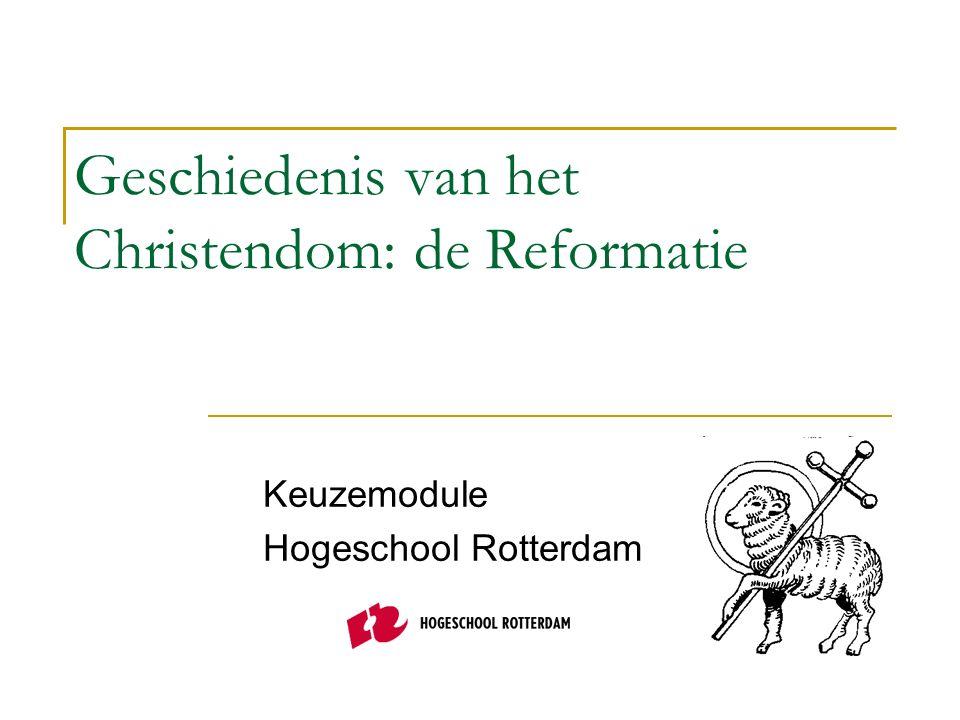 Geschiedenis van het Christendom: de Reformatie